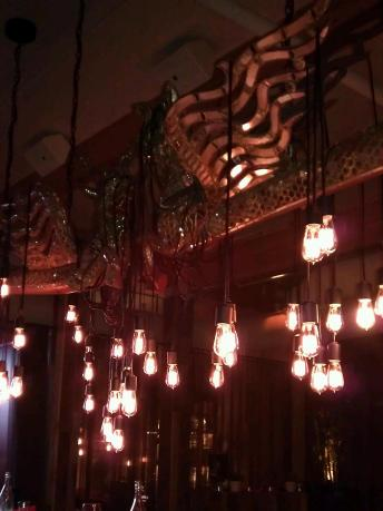 Burlap lighting