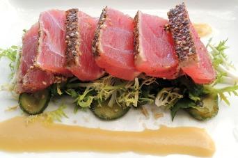 Tuna sashimi at Roppongi La Jolla