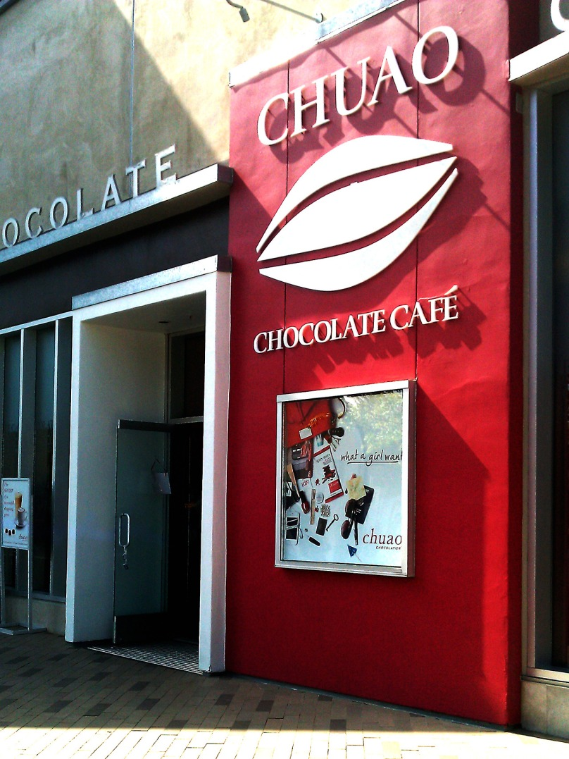 Chuao Chocolatiers closing in UTC