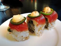 Jalapeno Rolls at Harney Sushi