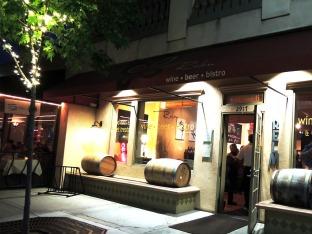 Relm Wine Bar Exterior