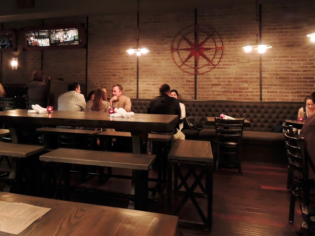 Communal Tables at Rustic Kitchen