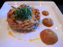 ViVa bar + kitchen crab cake