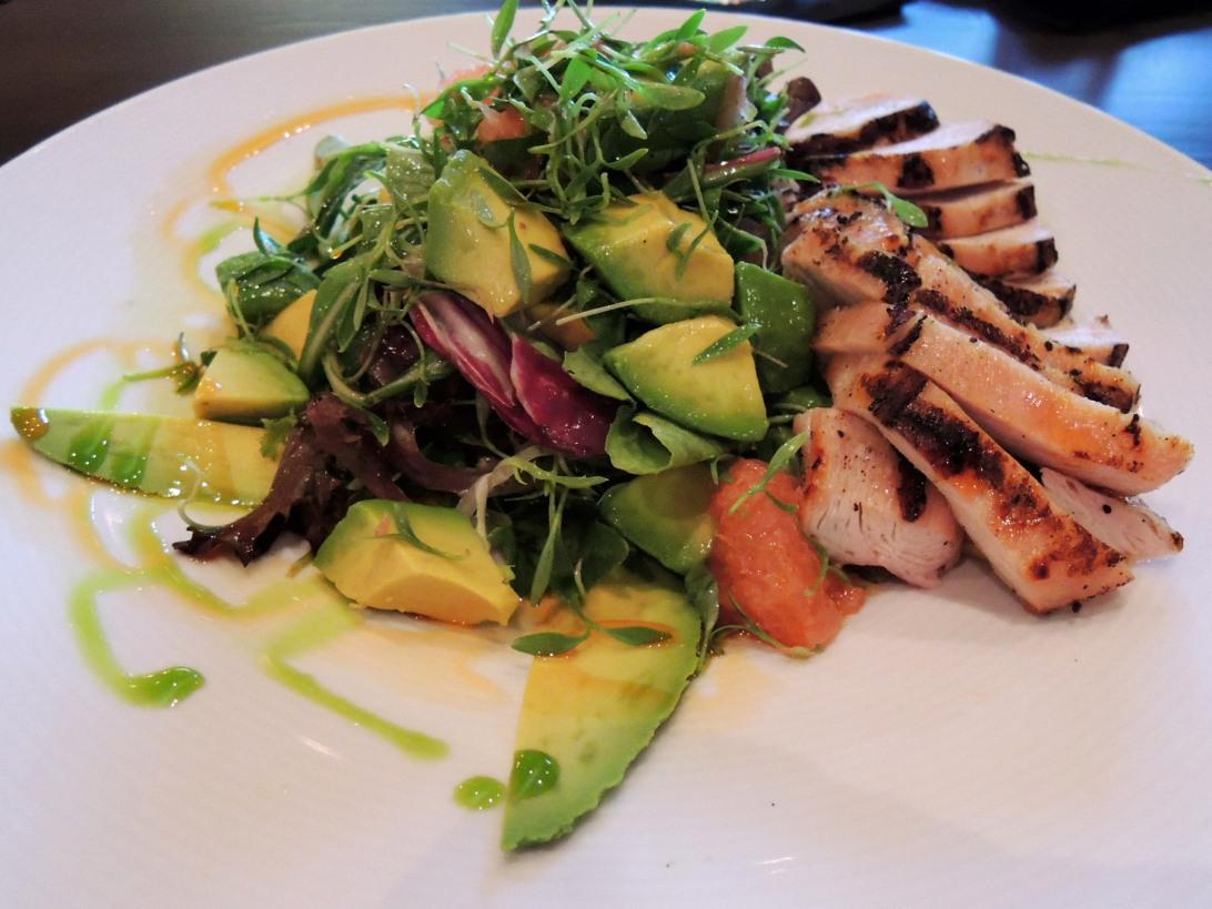 ViVa bar + kitchen grilled chicken salad