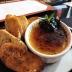 creme brûlée with foie gras